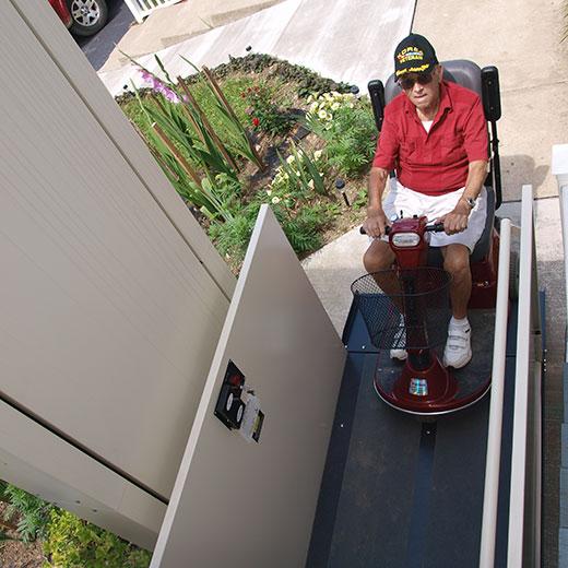 elderly wheelchair lift