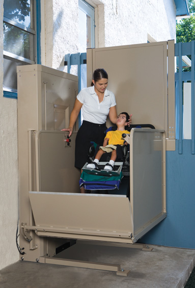 Carlsbad scooter power bruno wheelchairs elevator lift for Personal elevators for the home