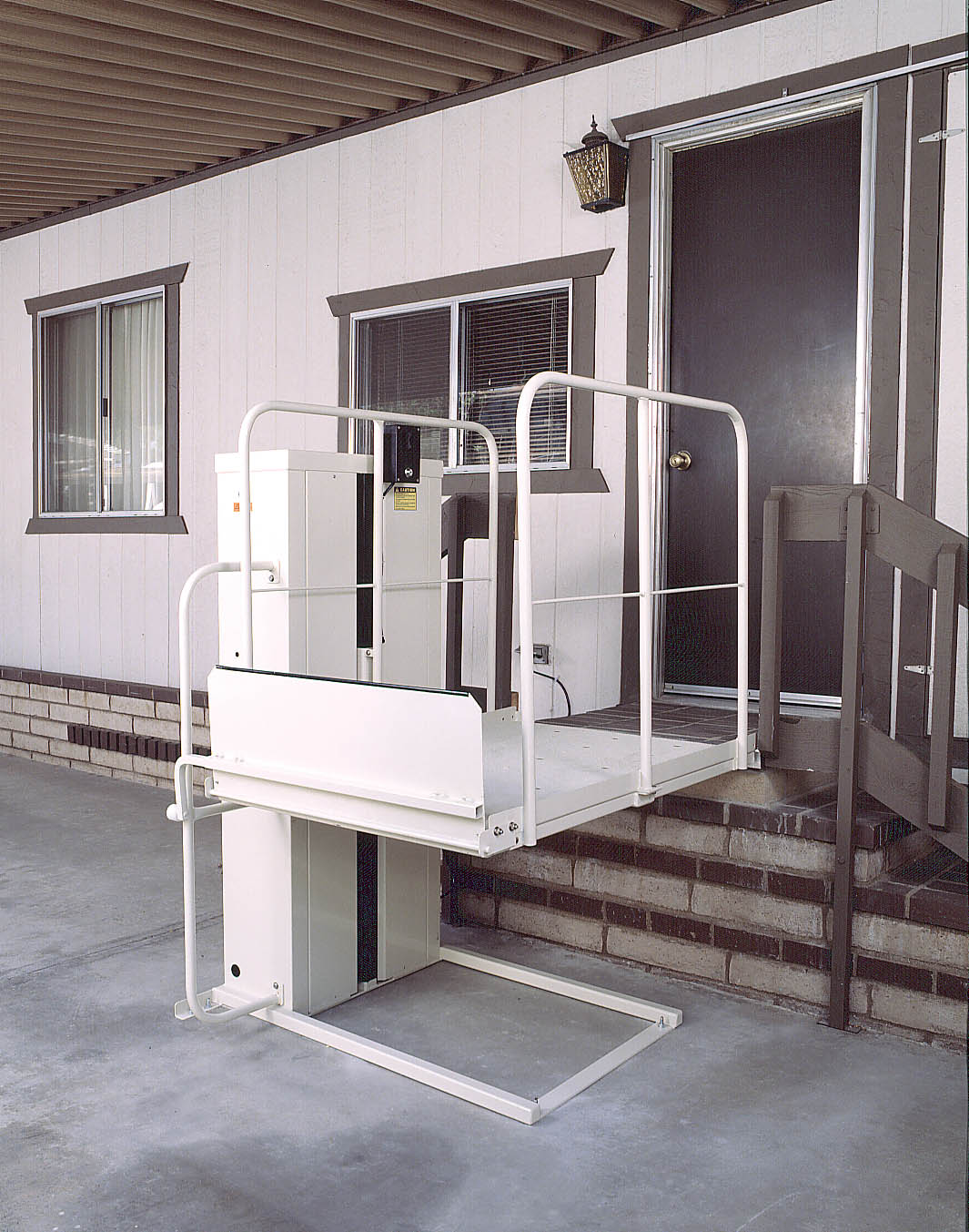 Residential Wheelchair Lift : Wheelchair lifts commercial and residential elevators
